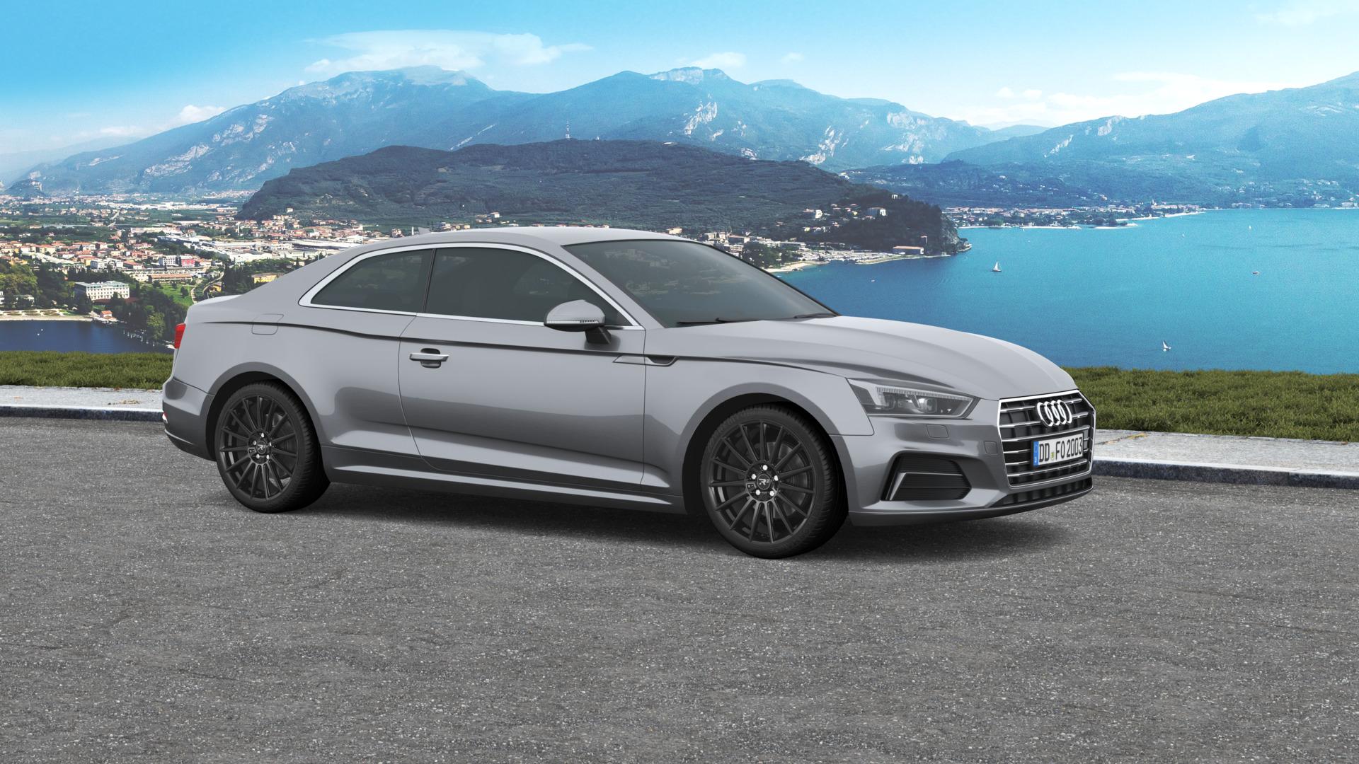 R Wheels R3h07 Black For Your Audi A5 Felgenoutlet Com