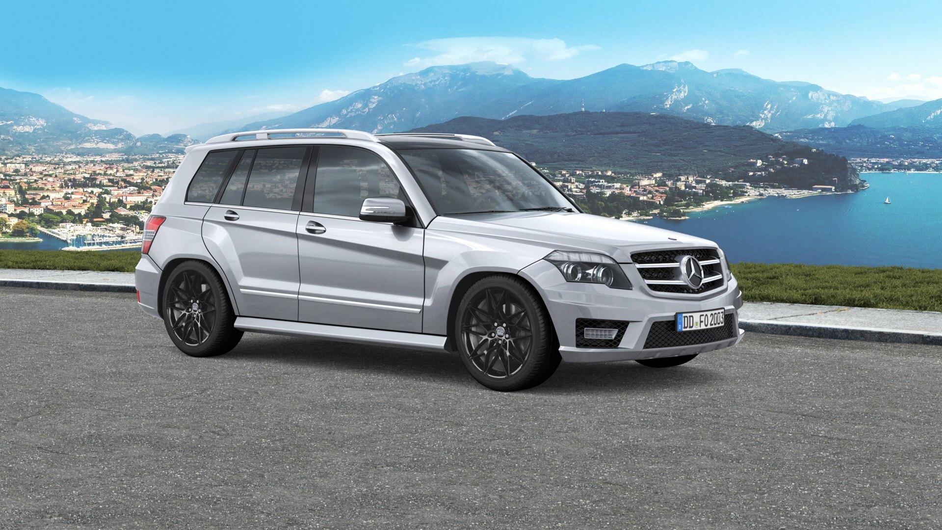 Mam B2 Black Painted For Your Mercedes Benz Glk Class Felgenoutlet Com